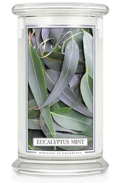 Kringle Candle - Eucalyptus Mint from Sharon Elizabeth's Floral Designs in Berlin, CT