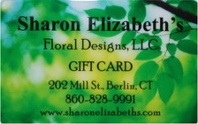 Gift Cards from Sharon Elizabeth's Floral Designs in Berlin, CT