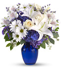 Beautiful in Blue from Sharon Elizabeth's Floral Designs in Berlin, CT