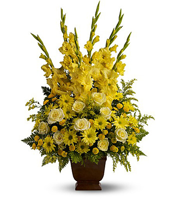 Teleflora's Sunny Memories from Sharon Elizabeth's Floral Designs in Berlin, CT