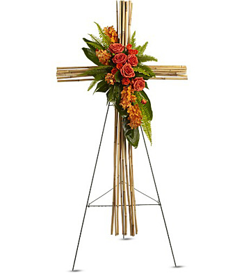 River Cane Cross from Sharon Elizabeth's Floral Designs in Berlin, CT