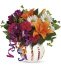 Teleflora's Party Starter Bouquet from Sharon Elizabeth's Floral Designs in Berlin, CT
