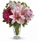 Teleflora's Blush Of Love Bouquet from Sharon Elizabeth's Floral Designs in Berlin, CT