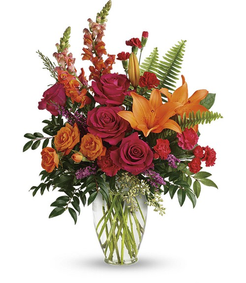 Punch Of Color Bouquet from Sharon Elizabeth's Floral Designs in Berlin, CT