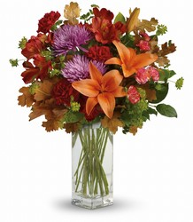 Teleflora's Fall Brights Bouquet from Sharon Elizabeth's Floral Designs in Berlin, CT