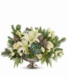 Winter Wilds Centerpiece from Sharon Elizabeth's Floral Designs in Berlin, CT