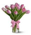Precious Pink Tulips from Sharon Elizabeth's Floral Designs in Berlin, CT