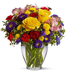 Brighten Your Day from Sharon Elizabeth's Floral Designs in Berlin, CT
